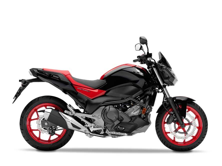 Honda NC750S 2016
