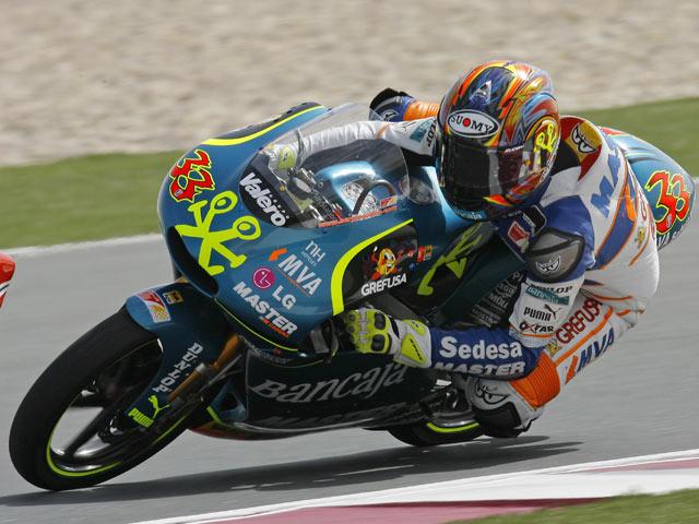GP España. Parrilla de 125 cc
