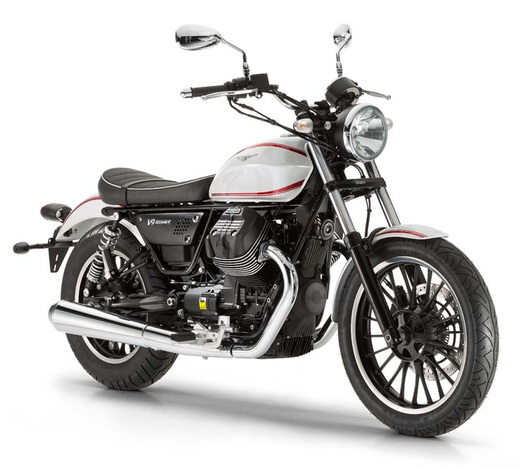 Moto Guzzi V9 Roamer 2016