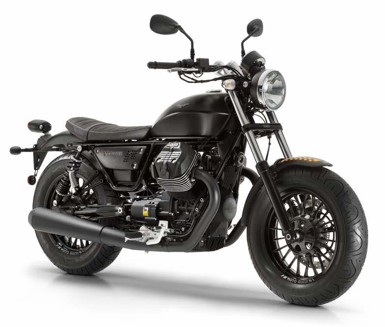Moto Guzzi V9 Bobber 2016