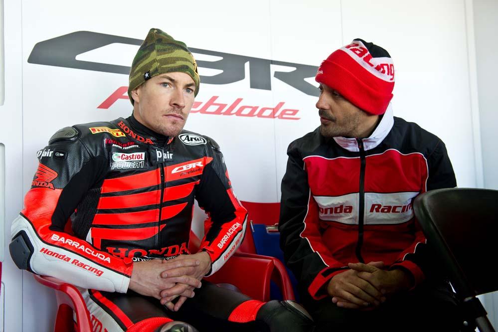 Nicky Hayden en SBK