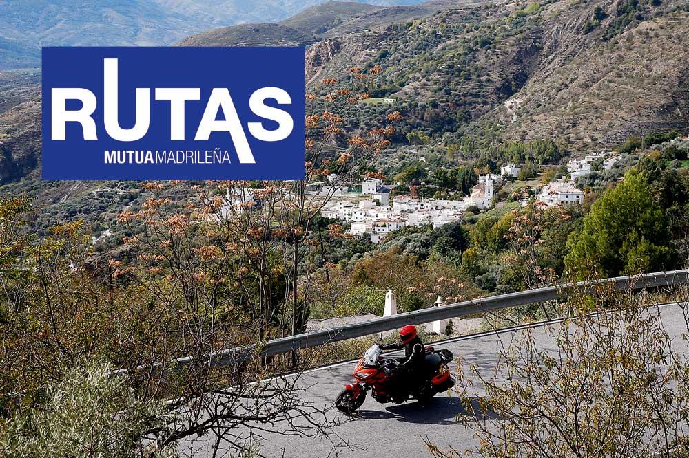 Ruta en moto por la Alpujarra Granadina