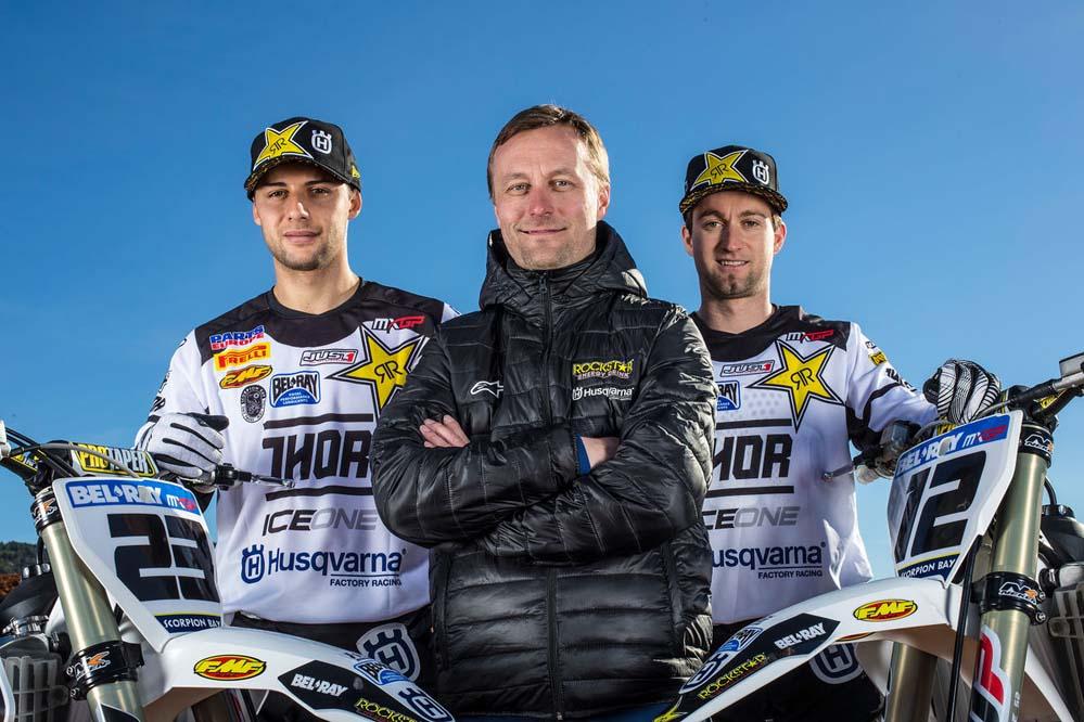 Fotos oficiales equipo Husqvarna de motocross