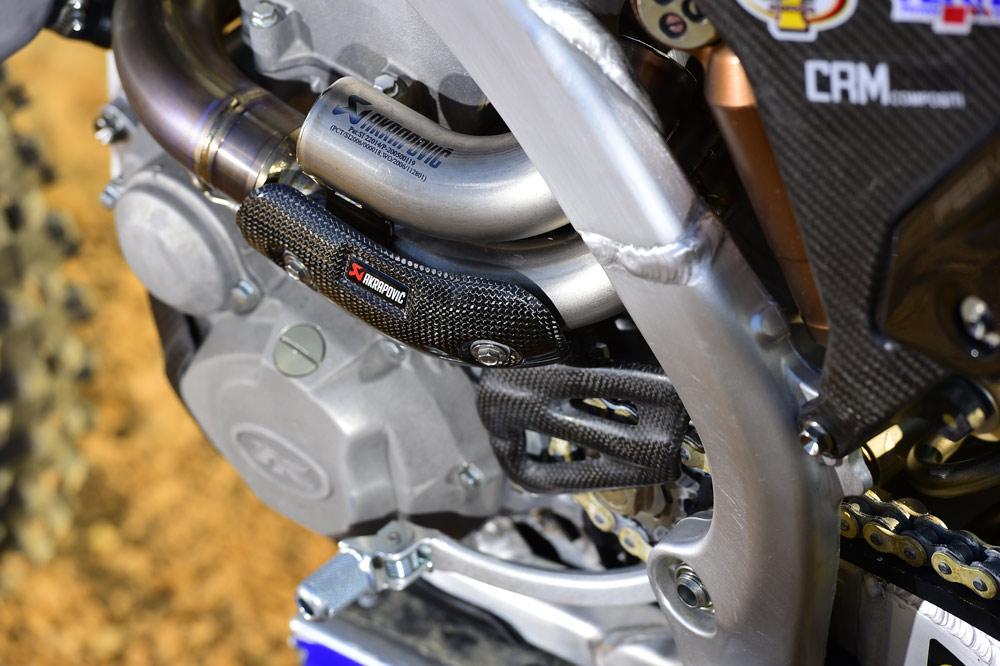 Fotos prueba Yamaha YZ 450 F oficial de Romain Febvre