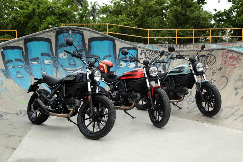 Ducati Scrambler Sixty2, galería de fotos