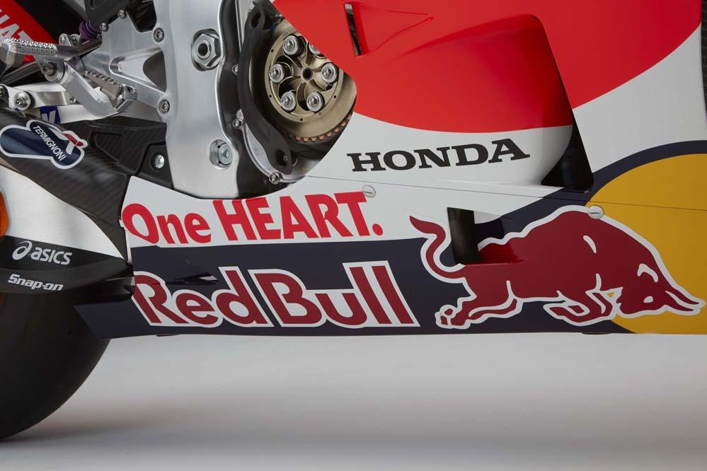 La Honda RC213V 2016 de Dani Pedrosa y Marc Márquez