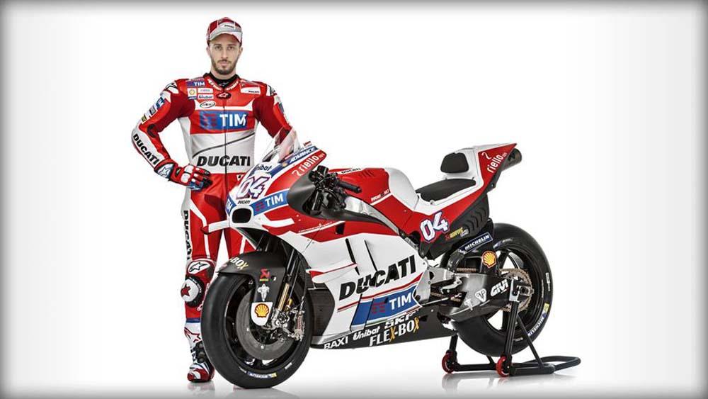 Presentación Ducati MotoGP 2016
