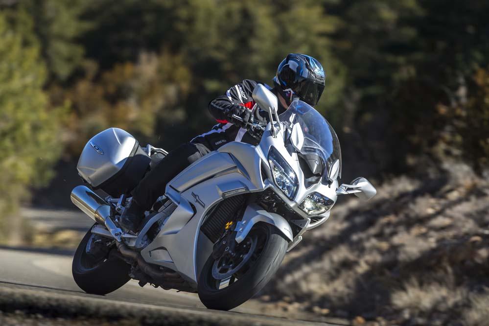 Galería de fotos de la Yamaha FJR 1300 AE