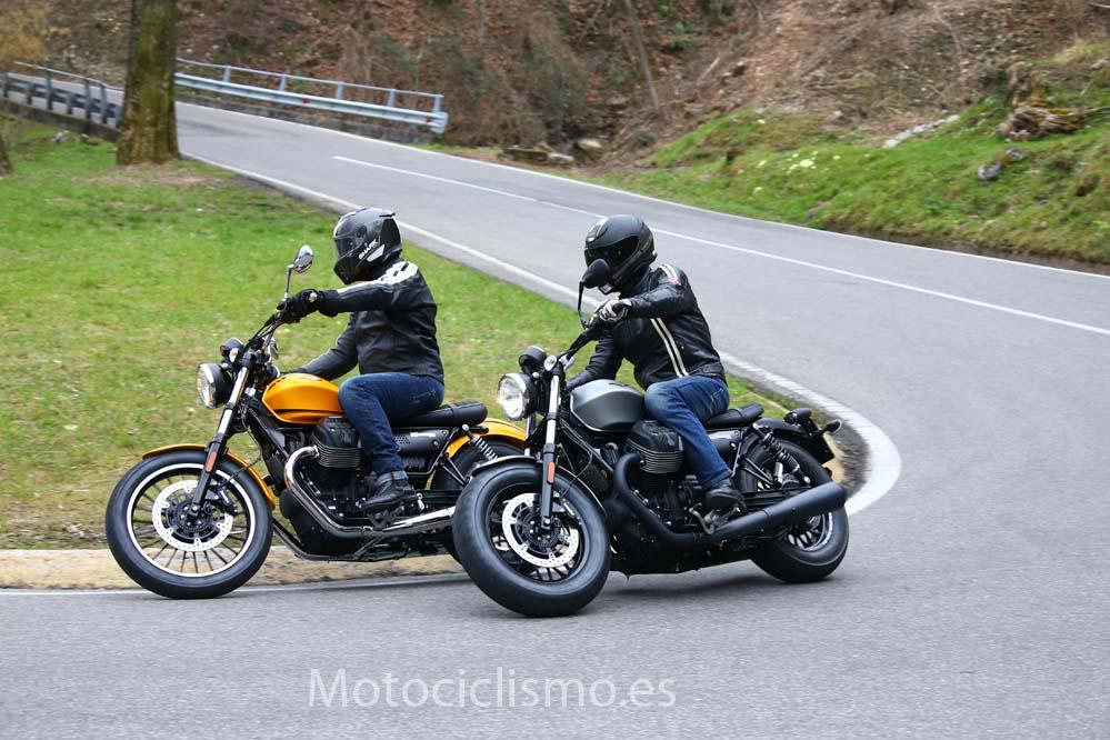 Moto Guzzi V9 Bobber y Roamer: galería de fotos