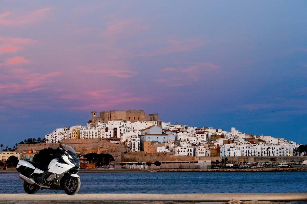 Las mejores fotos de la ruta en moto por Peñíscola