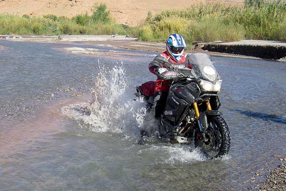 Con la Yamaha Super Ténéré por Marruecos