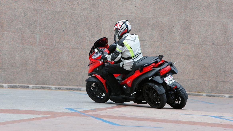 Quadro4, una moto de cuatro ruedas