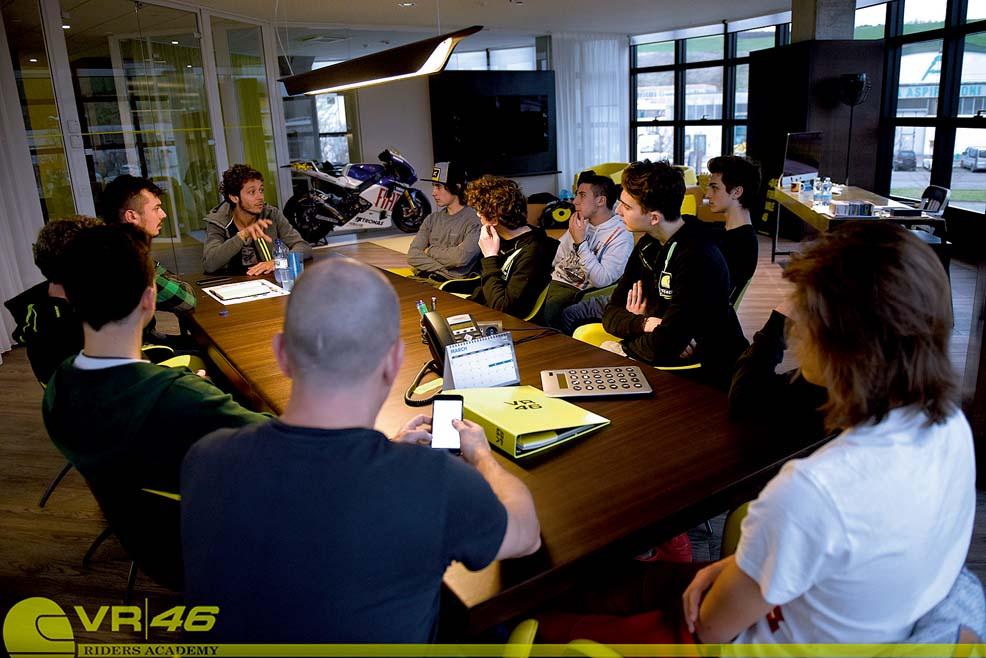 Los pilotos de la VR46 Academy