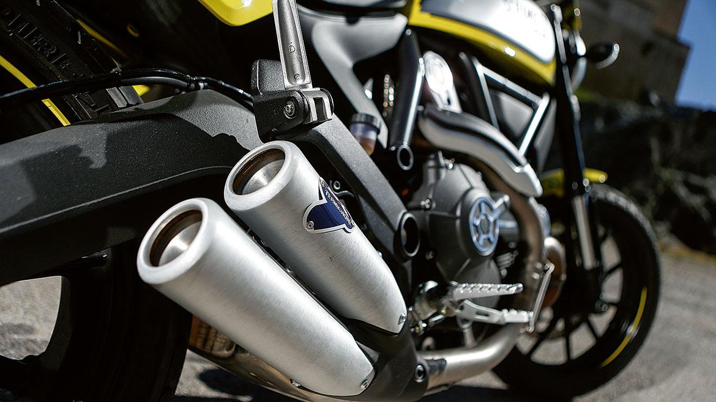 Ducati Scrambler Flat Track Pro, nacida en circuito