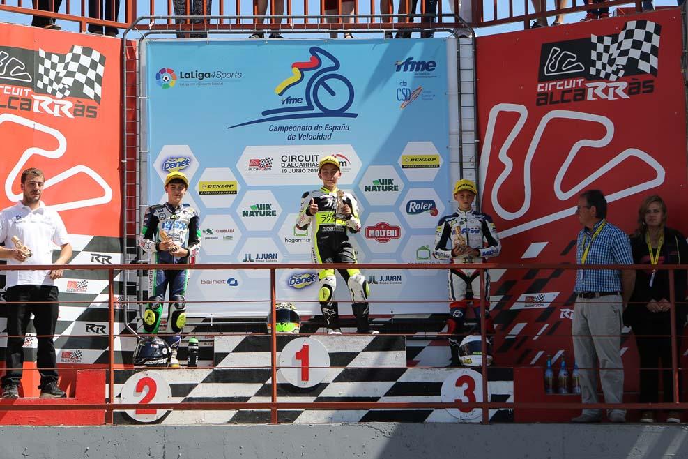Campeonato de España de Velocidad en Alcarràs