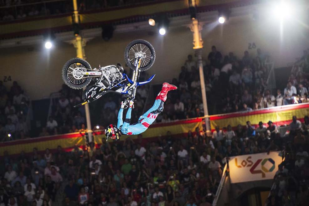 Tom Pagès vence por cuarta vez el Red Bull X-Fighters