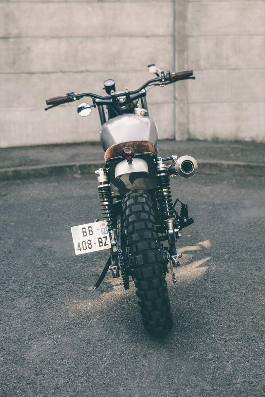 Suzuki Van Van Scrambler
