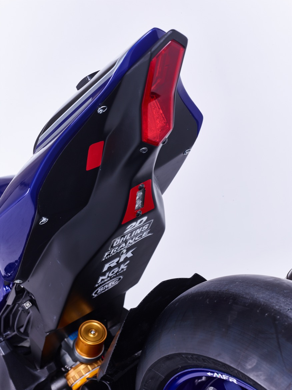 Fotos del equipo Yamaha Factory Racing y YARD