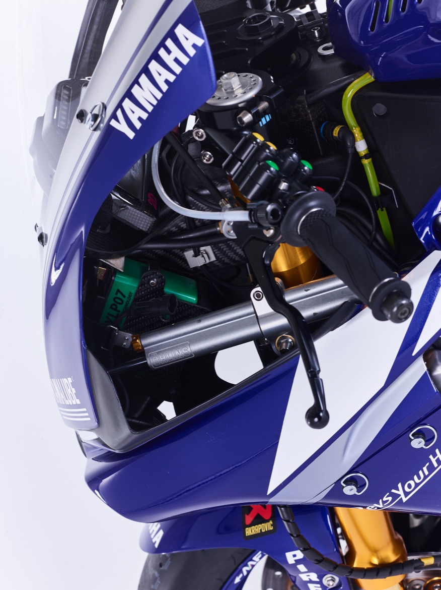 Fotos del equipo Yamaha Factory Racing y YARD