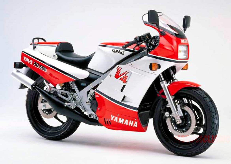 Fotos de las mejores motos de los años 80