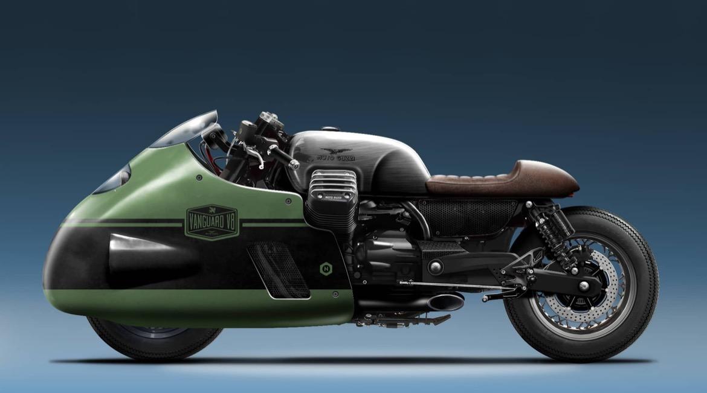 """Vanguard V8, en honor a la Guzzi """"Otto"""""""