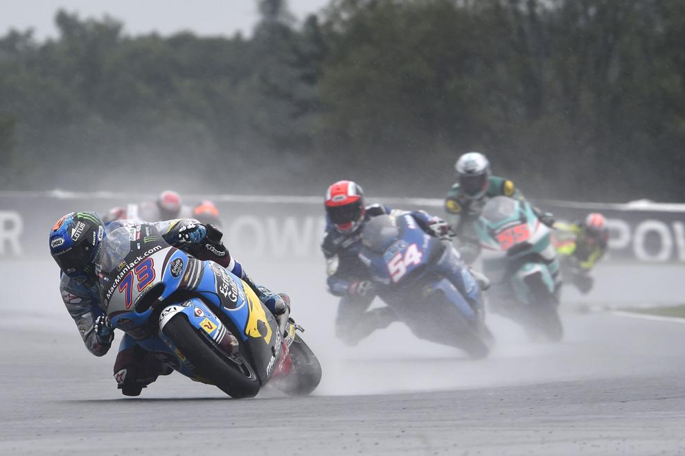 Las imágenes de la carrera de Moto2 en Brno
