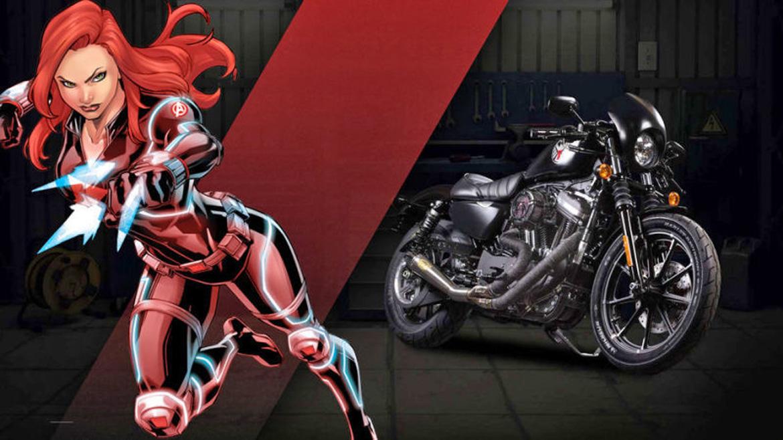 Marvel llega al mundo de las motos