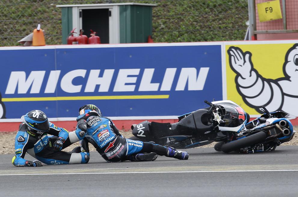 La victoria de Brad Binder en Silverstone, en fotos