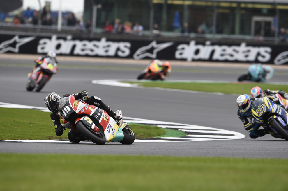 Las mejores fotos de la carrera de Moto2 en Silverstone