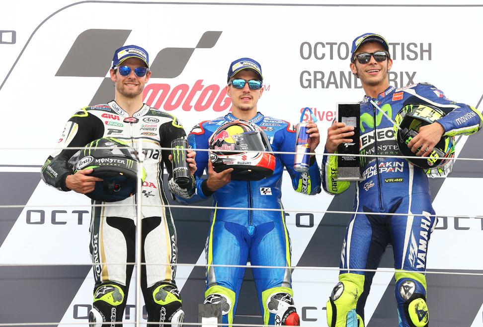 La primera victoria de Maverick Viñales en MotoGP en imágenes