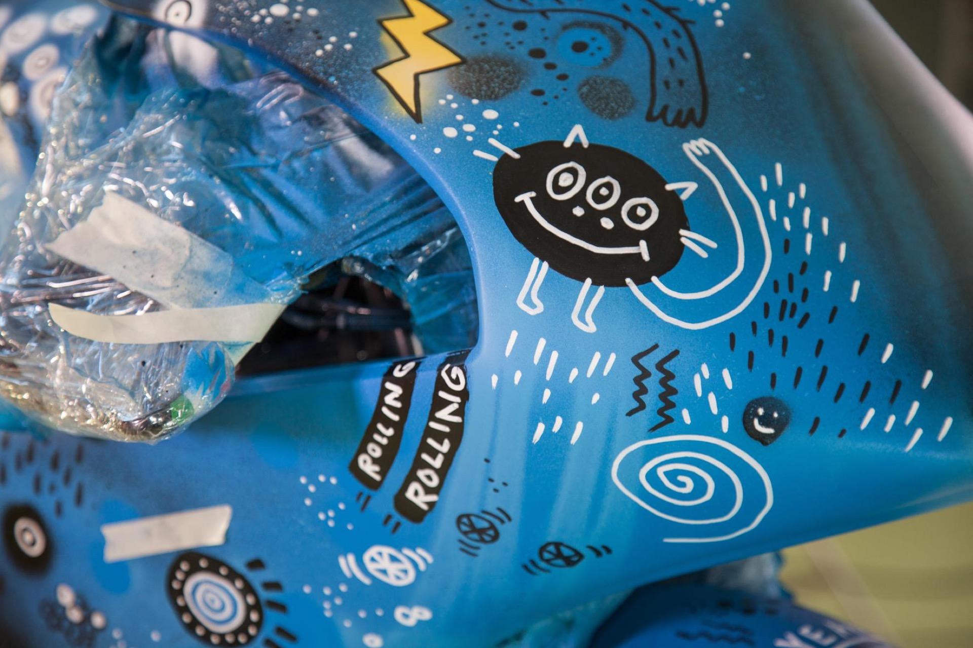 Así se pintó la KTM del Sky VR46