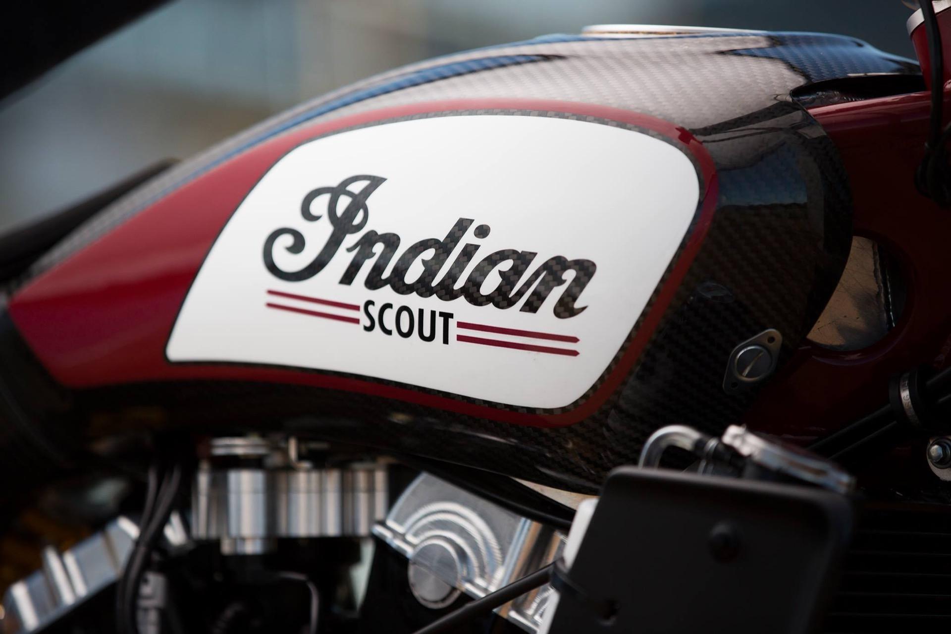 Fotos de la Indian Scout FTR 750