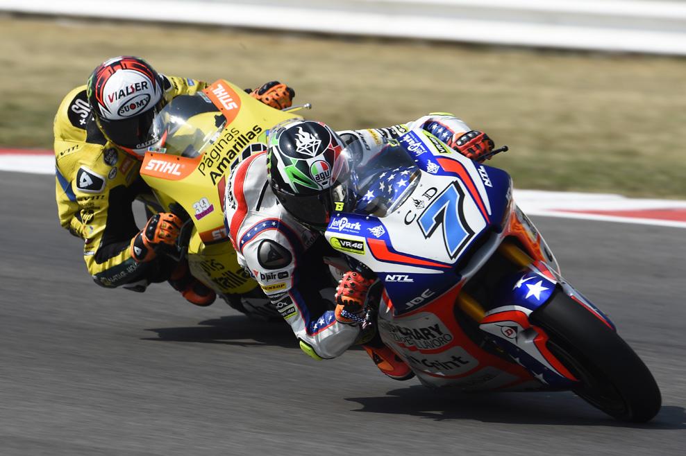 Las fotos de la primera victoria de Baldassarri en Moto2