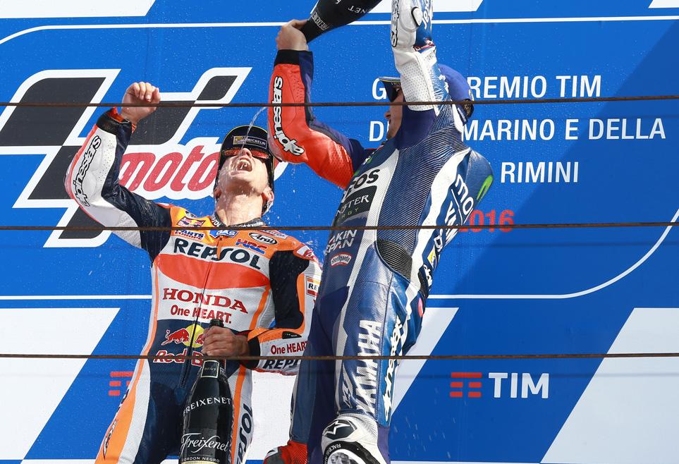 La victoria de Dani Pedrosa en Misano en imágenes