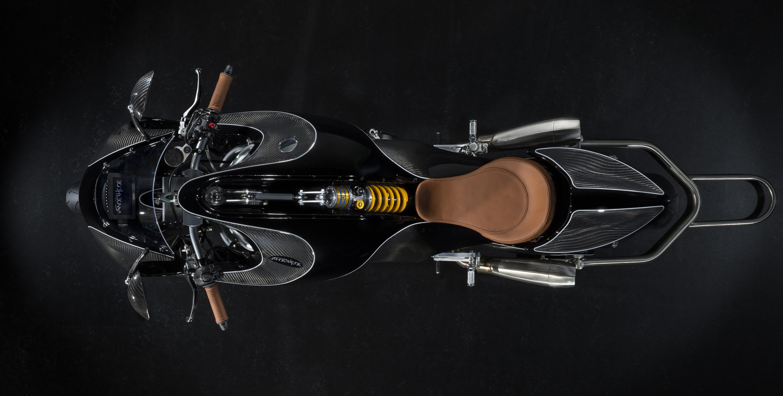Van der Heide, la moto más elegante del año