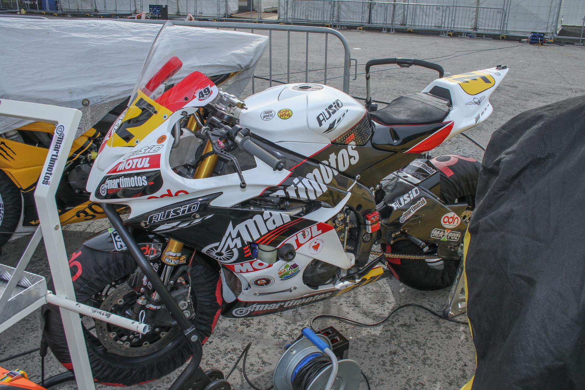 Fotos de Raül Torras en el Manx GP