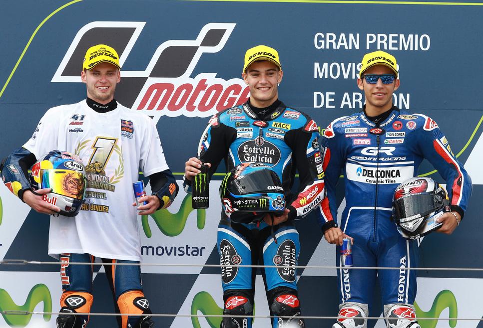 La victoria de Navarro y el título de Binder, en fotos