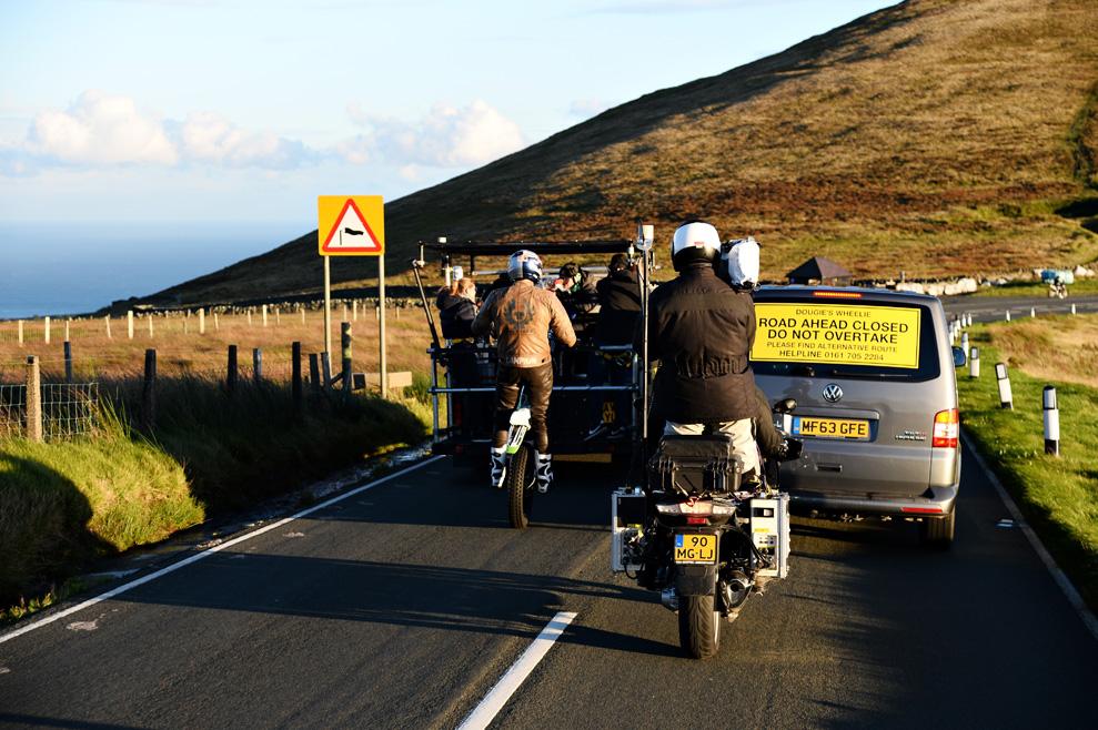 La vuelta de Doug Lampkin a la Isla de Man, en fotos
