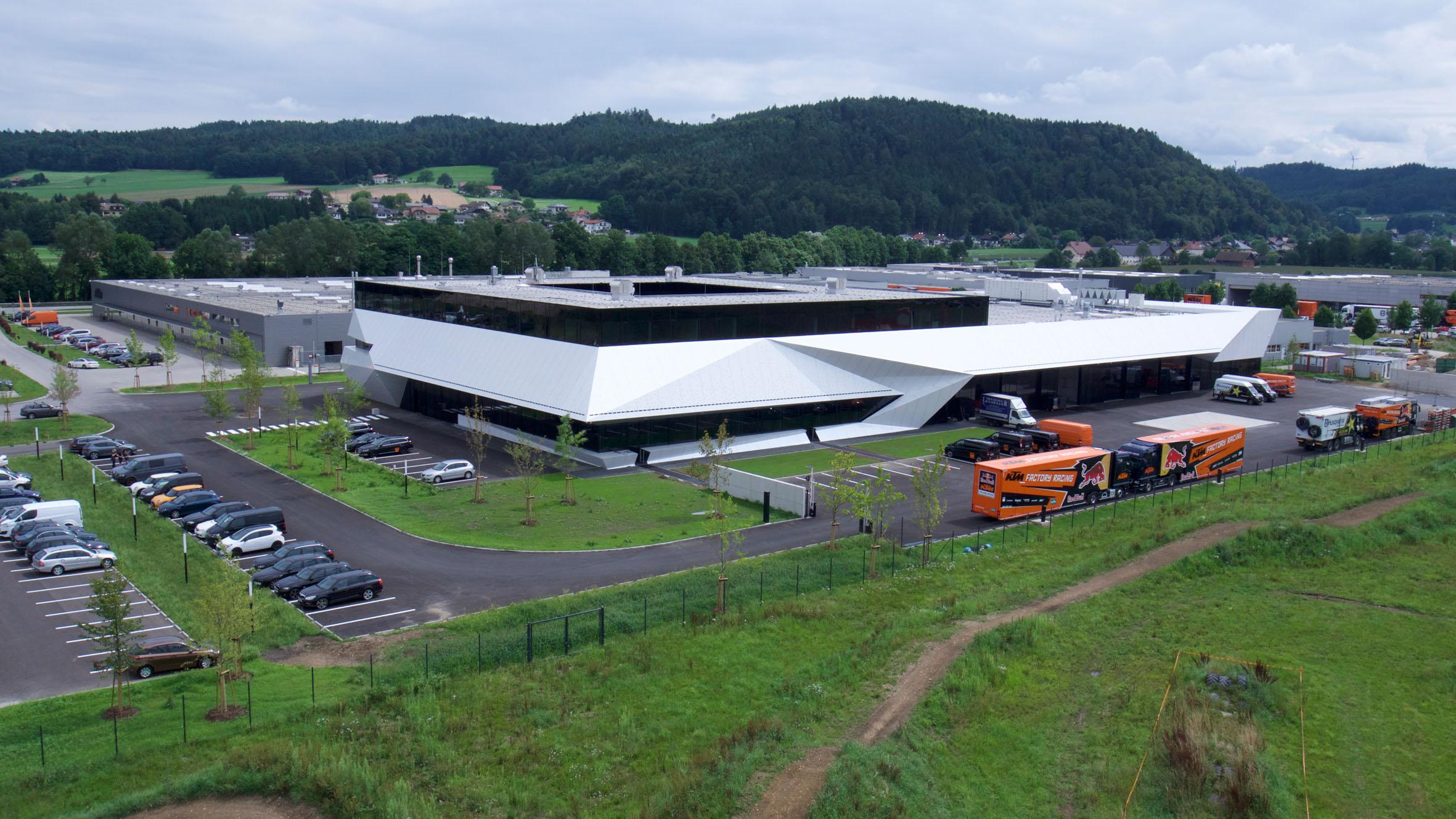 Nuevas instalaciones de KTM Motorsport