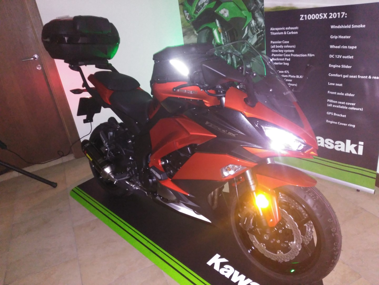 Presentación Kawasaki Z1000SX 2017