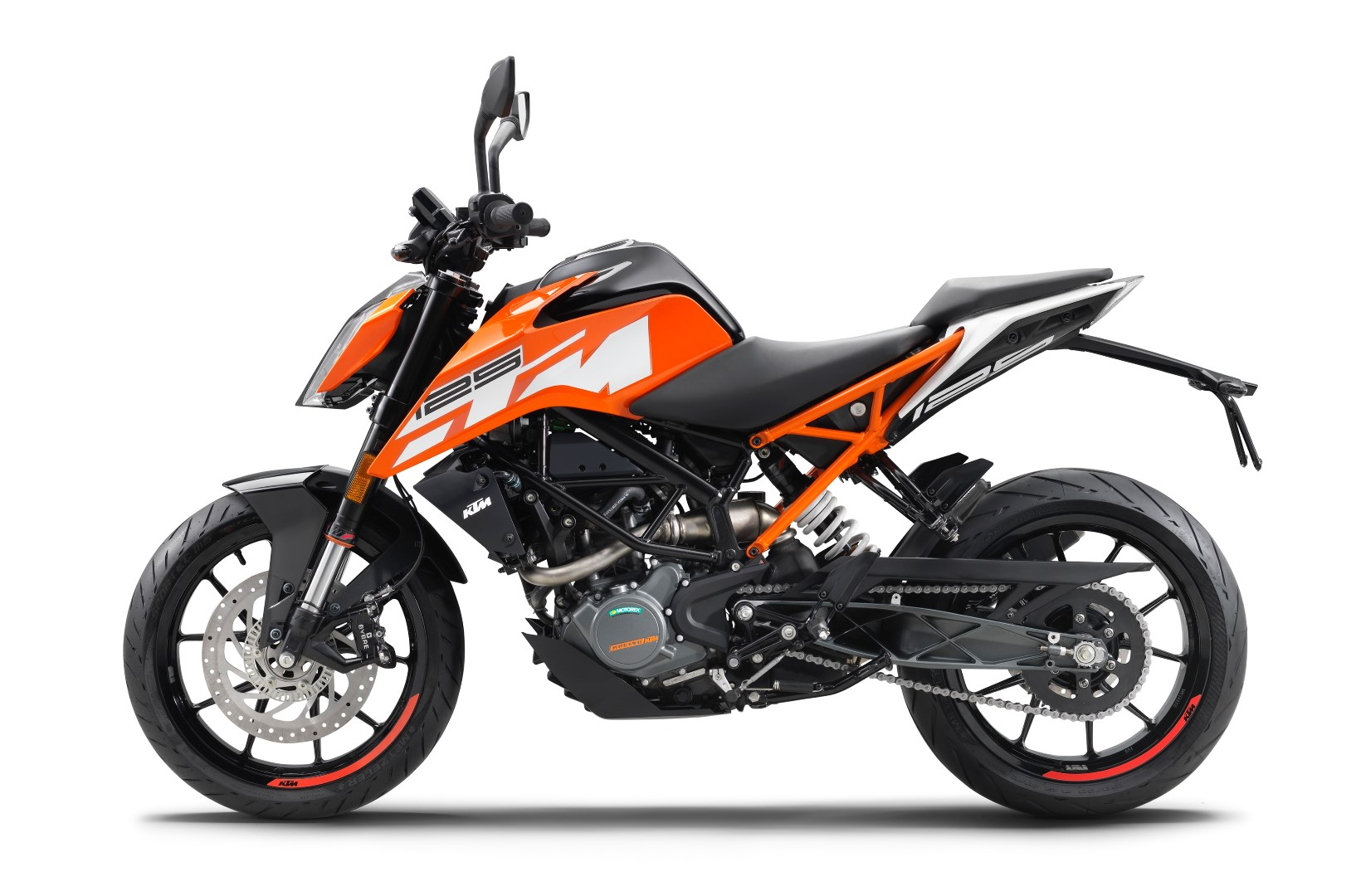 KTM 125 Duke 2017 fotos