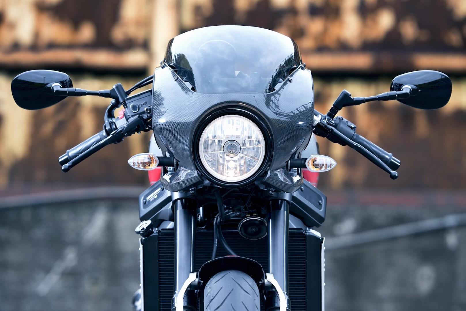 Yamaha XSR900 Abarth 2017 fotos