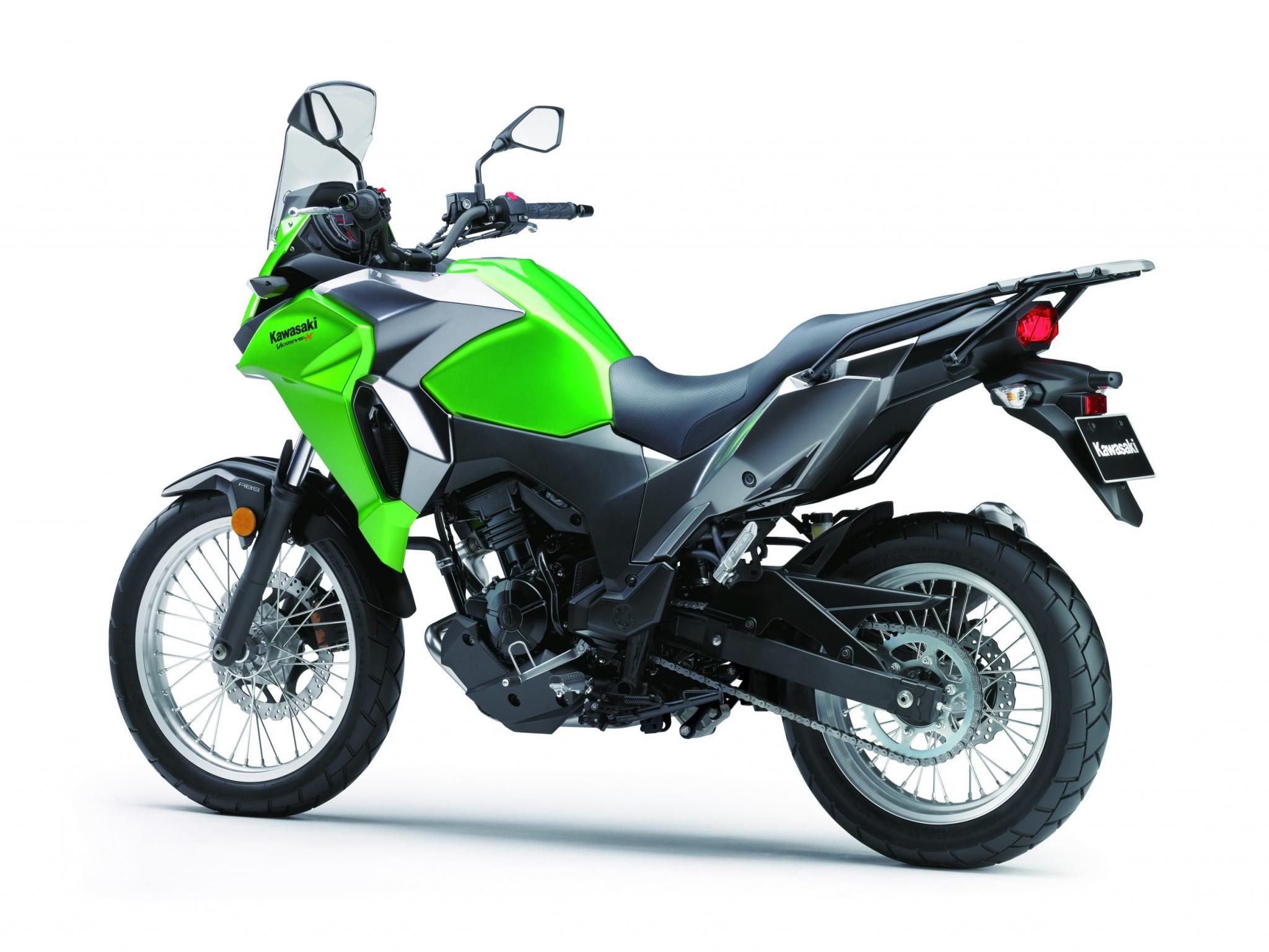 Kawasaki Versys-X 300 2017 fotos
