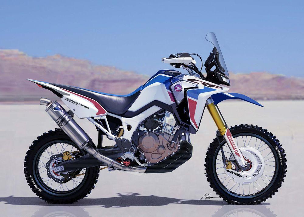 Honda Africa Twin Enduro Sports