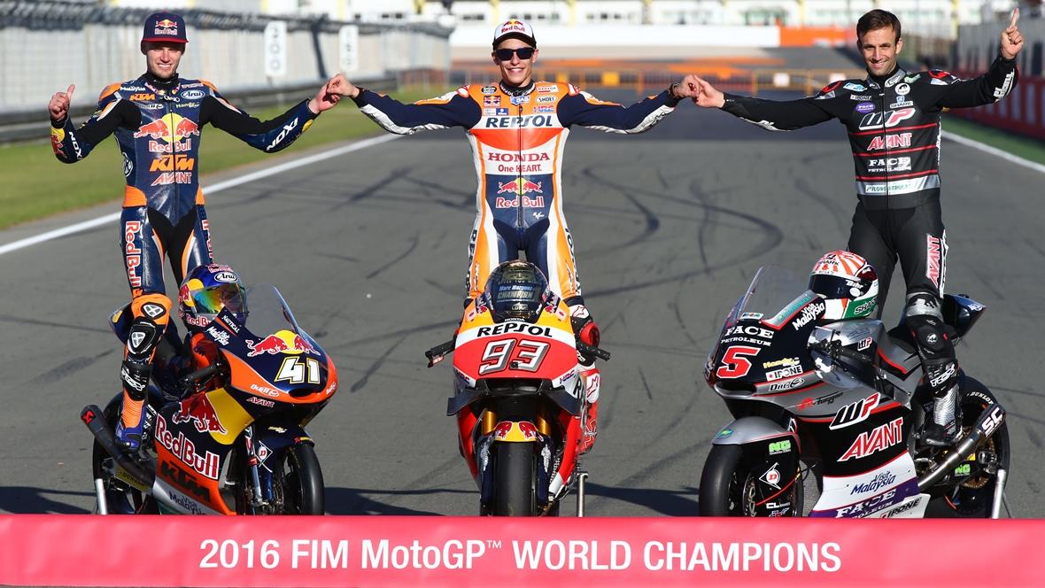 Los premios de MotoGP 2016
