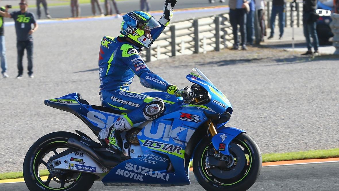 Las 10 despedidas de MotoGP en Valencia 2016
