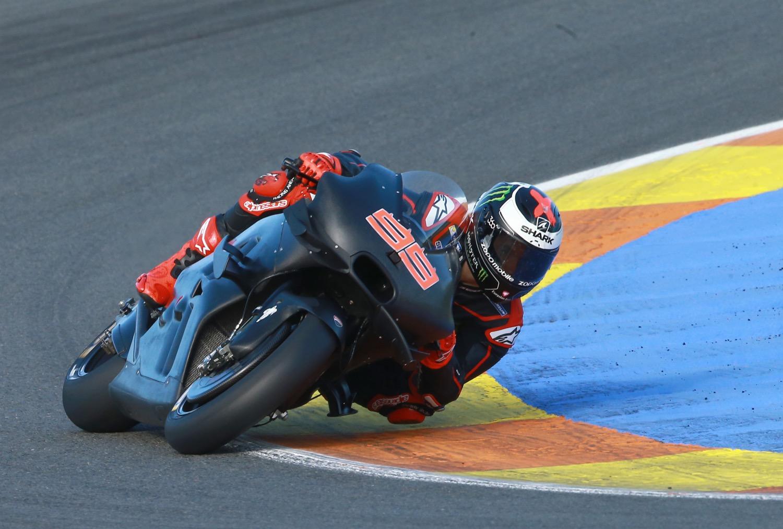 Jorge Lorenzo con la Ducati 2017