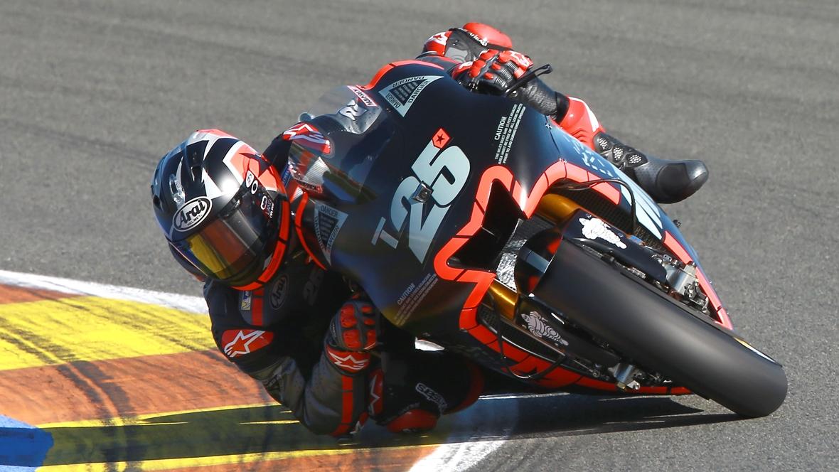 Maverick Viñales con la Yamaha 2017