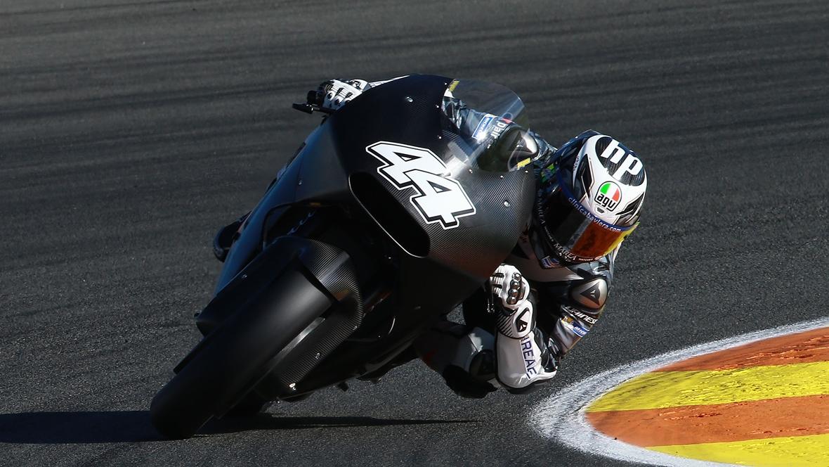 Pol Espargaró y Bradley Smith, con la KTM
