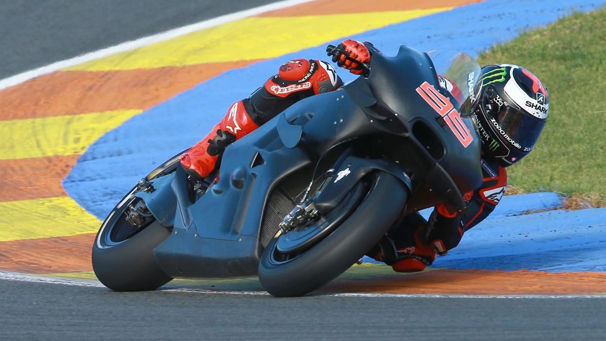 Los 26 pilotos de los test de MotoGP en Valencia